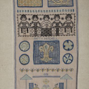 Patty Mitchell Embroidered Sampler